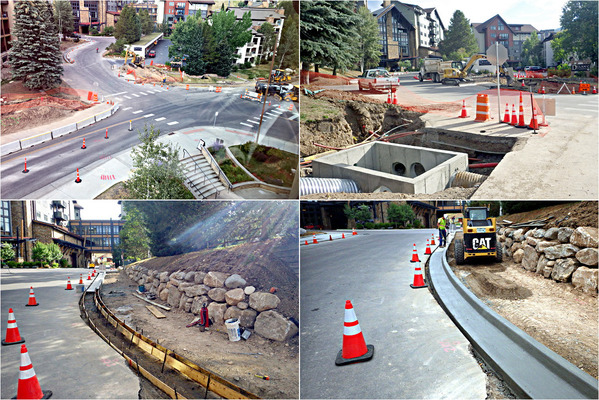 Apres Ski Way / Village Dr. Intersection Improvements, Steamboat Springs