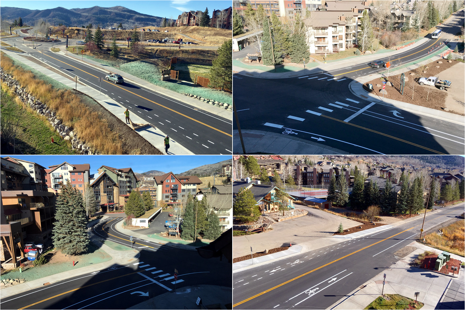 Apres Ski Way / Village Dr. Intersection, Utility, and Drainage Improvements, Steamboat Springs