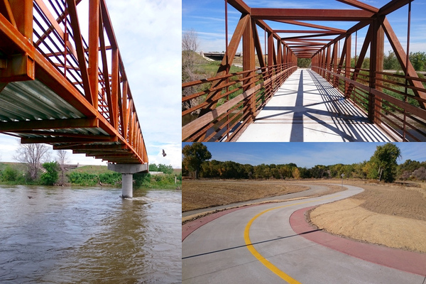 S. Platte River Trail and Bridges, 108th to 120th, Adams County Parks and Recreation / UD&FCD