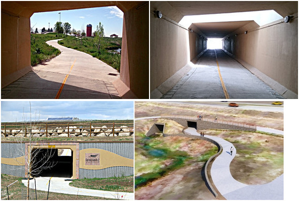 Spring Gulch Underpass at SH 119, Longmont