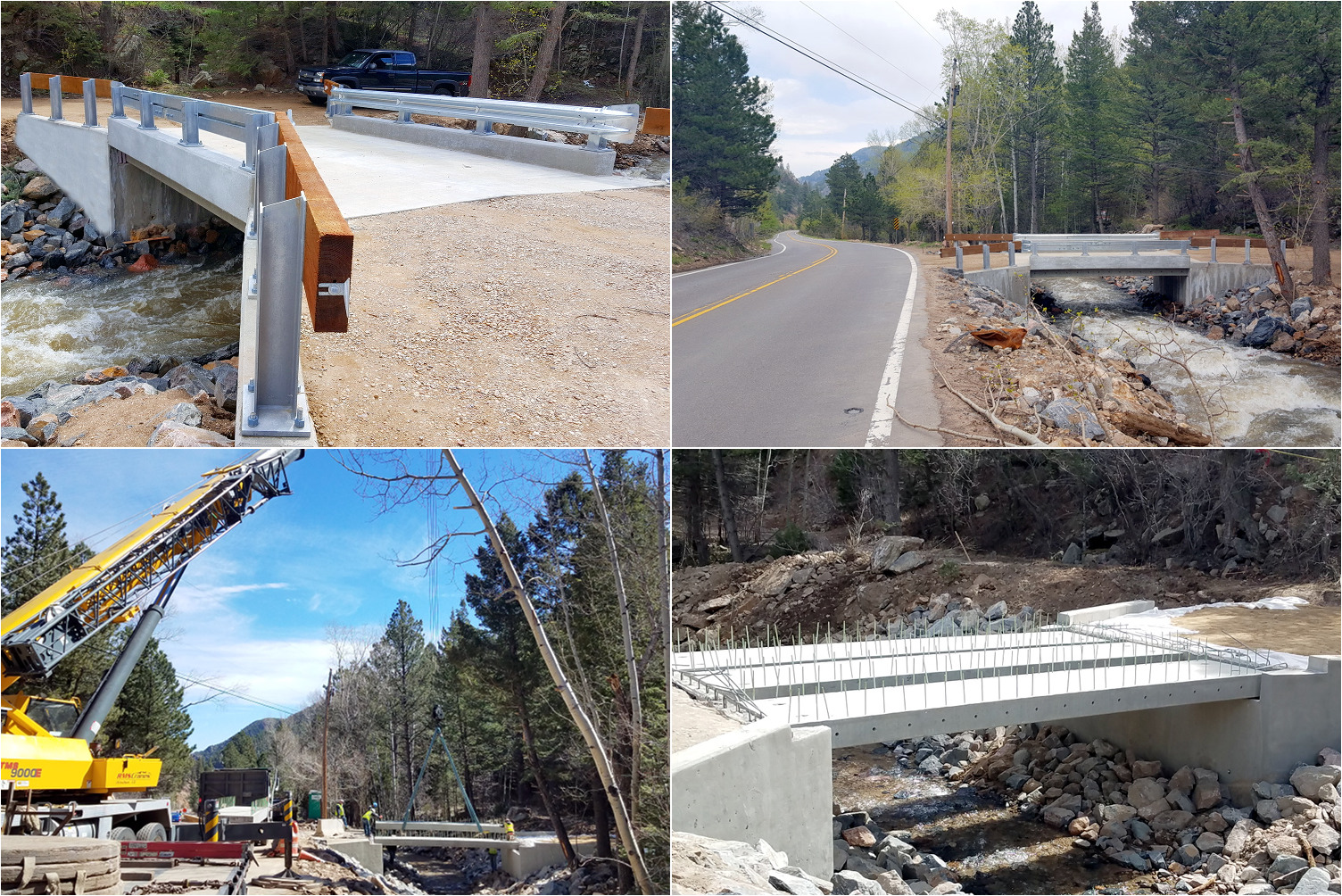 Boulder County / FEMA CDBG-DR Private Bridge Replacement on Left Hand Creek, Jamestown